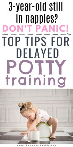 Is your child over 3 years and still refusing to ditch the nappies? Here's everything you need to know about coping with delayed potty training. What to do when your child is refusing to use the toilet and reassurance that you will eventually get there! From a mama who has just potty trained their 3.5 year old! #pottytraining 3 Year Old Activities, Fine Motor Activities For Kids, Toddler Activities, Potty Training Boys, Toilet Training, Training Tips, Natural Parenting, Kids And Parenting, Parenting Hacks