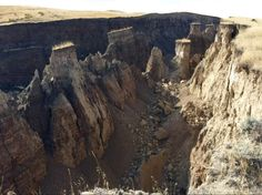 """Giant """"crack"""" appears in the earth near Wyoming's Bighorn Mounta - KTVQ.com 