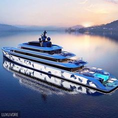 Luxurydotcom3 Billionaires — luxuvore: Mega Yacht. How do you feel about...