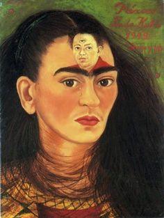 Diego e Eu - Frida Kahlo e suas pinturas ~ Pintora comunista e revolucionária