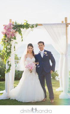 Andaz Maui at Wailea Wedding  Photo by: Dimitri and Sandra Photography