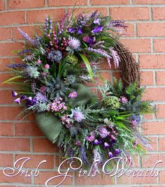A personal favorite from my Etsy shop https://www.etsy.com/listing/219114752/made-to-order-scottish-thistle-heather