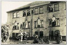 Men at work on Boy's Reform School at Pruntytown, Taylor County, WV--EWVAIH