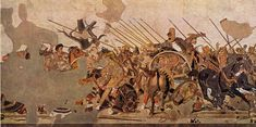 The Alexander Mosaic from Pompeii