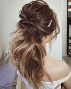 Gorgeous Ponytail Hairstyle Ideas That Will Leave You In FAB - ponytail wedding hairstyles #weddinghair #wedding #hairstyles #ponytail #bridehair