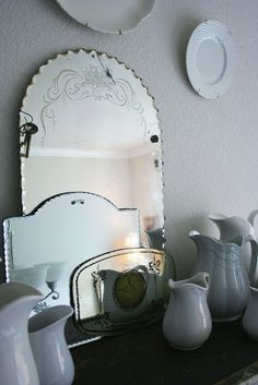 The Farmhouse Porch: My Home    Mirrors...