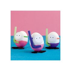 Best Easter Egg Decorating Ideas - Decorating Egg Ideas | Kids' Easter Crafts | FamilyFun, found on #polyvore.