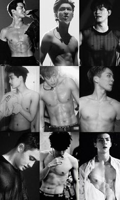 Shared by Yasmin Chanyeol. Find images and videos about kpop, sexy and exo on We Heart It - the app to get lost in what you love. Kpop Exo, Baekhyun Chanyeol, Exo Kai Abs, Memes Exo, Exo Ot12, Chanbaek, Kaisoo, K Pop, Amor
