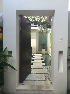 Zen entrance & ?????? ?????? ??????? villa thai entrance | Door ...
