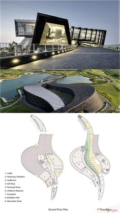 Southern Branch of Taiwan Palace Museum - Architecture: Museums - Architecture Design, Zaha Hadid Architecture, Architecture Presentation Board, Museum Architecture, Cultural Architecture, Concept Architecture, Southern Architecture, Auditorium Architecture, Museum Plan