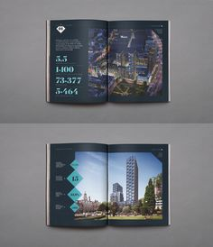 Croydon is an area synonymous with regeneration and is one of the best connected transport hubs in London with a growing population.Working in partnership with Minerva and JLL we built a brand centered around two key elements; the position of the schem… Hotel Brochure, Luxury Brochure, Brochure Layout, Brochure Inspiration, Layout Inspiration, Property Branding, Booklet Design, Catalog Design, Book Layout