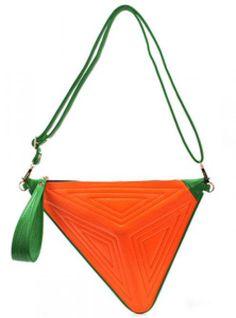 Orange Fashion Satchels Bag$44.00 Orange Fashion, Colorful Fashion, Orange Color, Handbags, Green, Leather, Satchel Bag, Satchels, Style