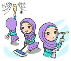 the edition of Flower Hijab is ready to enliven your chat room with her calm and cute expressions. Cute Muslim Couples, Muslim Girls, Kids Routine Chart, Islamic Cartoon, Emoji Images, Anime Muslim, Hijab Cartoon, Cartoon Flowers, Cute Love Cartoons