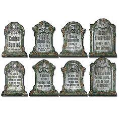 funny tombstones - Funny Halloween Tombstones