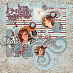 MonthlyMix Let s party by GingerbreadLadies http://store.gingerscraps.net/Monthly-Mix-Let-s-Party.html Templates TurnTheClockBack Part II by SeaTroutScraps http://store.gingerscraps.net/Turn-the-Clock-Back-2.html Photos by kpmelly