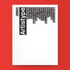 Back in Stock! Artistype / Available at www.draw-down.com / The use of typography in art can convey an unmistakable presence that visually communicates a desired idea or attitude. But besides being a carrier of information or visual expression it can also serve as a decorative element. For the fourteen artists in this book including Ed Ruscha Fiona Banner Shannon Ebner Liam Gillick Tsang Kin-Wah and Rose Nolan it is a fundamental tool. Intentionally or not this leads to the emergence of an…