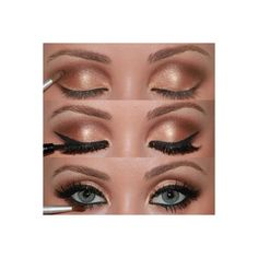 Makeup / Adele style makeup. found on Polyvore