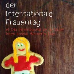 """Der Internationale Frauentag El Día Internacional de la Mujer International Women's Day  """"DerInternationale Frauentag,Weltfrauentag,Frauenkampftag,Internationaler FrauenkampftagoderFrauentagist einWelttag, der am8. Märzbegangen wird."""" (Wikipedia)  #BeBoldForChange #women because women watch #Barca football games as much as they cook and decide what they want for their lives... just like anyone else!   Is there a woman in your life who inspires you? Don't be afaid to share it with…"""