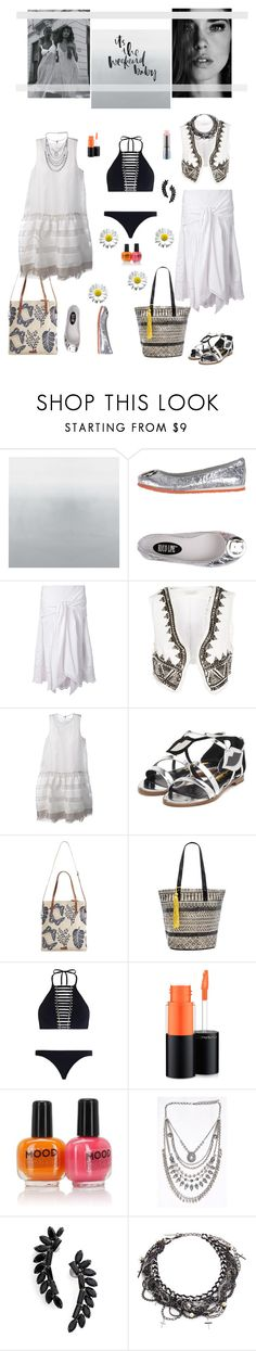 """""""Weekend"""" by hani-bgd ❤ liked on Polyvore featuring Ruco Line, SUNO New York, Pierre Balmain, Dondup, Rupert Sanderson, White Stuff, ále by Alessandra, Zimmermann, MAC Cosmetics and Cristabelle"""