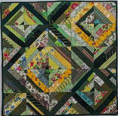 Fleur de Lis Quilts and Accessories: Another Day with Leah ~~ a finish!