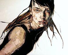 Die beeindruckende Malerei von Anna Bocek Obwohl die Malerin Anna Bocek ihre Bilder scheinbar mit hektischen Pinselstrichen entstehen lässt, sind die Ergebnisse alles andere als flüchtig. ...