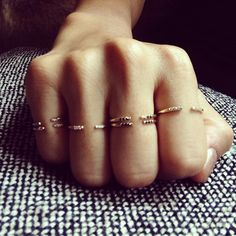 Jennie Kwon Designs / Equilibrium Cuff Rings