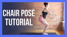 Chair Pose Tutorial - Alignment & Tricks for Beginners - Utkatasana Become A Yoga Instructor, Fierce, Free Yoga Videos, Chair Pose, Yoga Youtube, Health And Fitness Articles, Morning Yoga, Yoga Teacher Training, Vinyasa Yoga