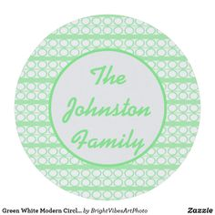 Green White Modern Circles Lines Pattern Round Paper Coaster White Coasters, Drink Coasters, Green Gifts, Line Patterns, Brand You, Green Colors, Circles, Create Your Own, Stationery