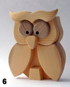 Easy And Cheap Diy Ideas: Wood Working For Kids Storage intarsia woodworking cat.Woodworking Lathe Posts woodworking that sell kitchens. Wooden Owl, Wooden Animals, Wooden Crafts, Woodworking For Kids, Woodworking Toys, Woodworking Projects, Woodworking Patterns, Man Cave Wall Decor, Sewing To Sell