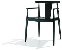 Стул с подлокотниками Smile Armchair от студии Lievore Altherr Molina  #Chair  #Armchair  #Furniture