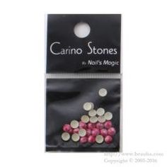http://www.beauba.com/products/detail.php?product_id=14050 Nails Magic Carino Stones Marble Color Marble Pink 4mm. #Nails #NailArt/stones  Domed marble stone. Sticks well with Hot Fix type.