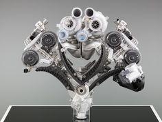BMW 4.4L Twin Turbo V8 (X5 M)
