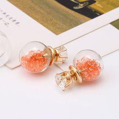 Very cute double-sided earrings!