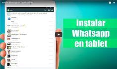 Cómo instalar Whatsapp en una tablet Android #friki #android #iphone #computer #gadget