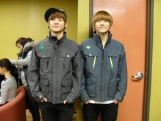 Kwon twins ♥  Youngdon (left) and Youngdeuk (right)  And Youngdon is mine.