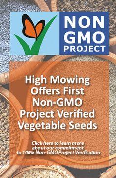 High Mowing Organic Seeds - 100% Organic, Non-GMO Seeds