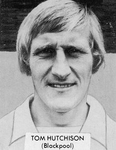 July Blackpool winger Tommy Hutchison, who was part of the Tangerines side that won the Anglo-Italian Trophy the previous month. Blackpool Fc, Der Club, England, Picture Cards, Football Soccer, British