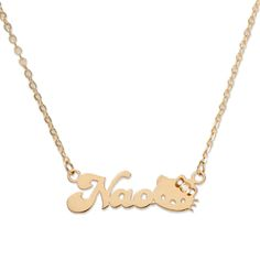 Hello Kitty pendant with your own Name!!, you can buy direct from Japan