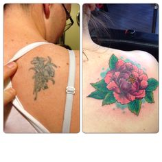 Cover up. Sideshow tattoo!