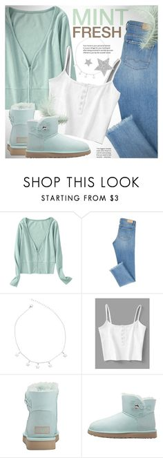 """Fresh mint"" by vn1ta ❤ liked on Polyvore featuring Diamond Star"