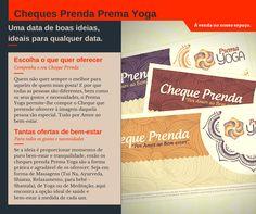 Cheques Prenda Prema Yoga. Uma data de boas ideias, ideais para qualquer data.
