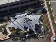 """Award of Excellence Tensile structures less than 600 sq.m """"Where Flying Fishes Play"""" G.H. Bruce LLC"""