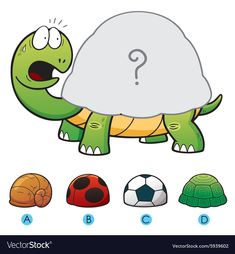 Vector Illustration of make the choice and connect matching turtle shell. Zoo Preschool, Preschool Centers, Kindergarten Worksheets, Worksheets For Kids, Teaching Kids, Kids Learning, Preschool Activities, Activities For Kids, Learn Arabic Alphabet