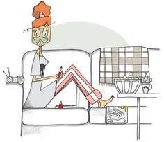 Mad'moiselle C , illustratrice, agence Marie Bastille @Mad'moiselle C . // cette image appartient à son auteur et/ou l'agence Marie Bastille + d'infos sur le site //