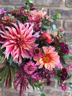 Cut Flower Garden, Flower Farm, Bunch Of Flowers, Beautiful Flowers, Dahlia Flower, Planting Flowers, Flower Arrangements, Wedding Flowers, Gardens