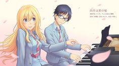 Piano duet by kousei and kaori