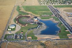 Tom Simko took this aerial photo of the Portneuf Wellness Complex and Portneuf Health Trust Amphitheater Monday, August 31, 2015 during the Beach Boys concert. The concert was the first at the new venue. #portneufhealthtrust #bewell #beachboys #idahostatejournal #pocatello