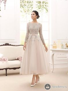 Grandmother Of Bride Dresses 2015 Elegant Illusion Long Sleeve Mother Of The Bridal Dresses A Line Bateau Lace Ankle Length Tulle Mother Dresses Hot Sale Mother Of The Bride Duties From Happymerrory, $66.76  Dhgate.Com