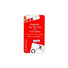 Amőba és 4 egy sorban, 2 in 1 utazó társasjáték 4 éves kortól - The Purple Cow 4 In A Row, Purple Cow, Tic Tac Toe Game, Bear Toy, Magnets, Games, Compact, Tin, Prints