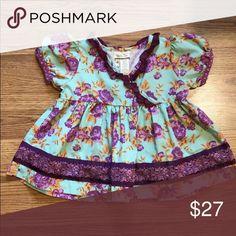 MATILDA JANE Lilac Top Size 2 Matilda Jane girls lilac top, size 2. Great condition. Matilda Jane Shirts & Tops